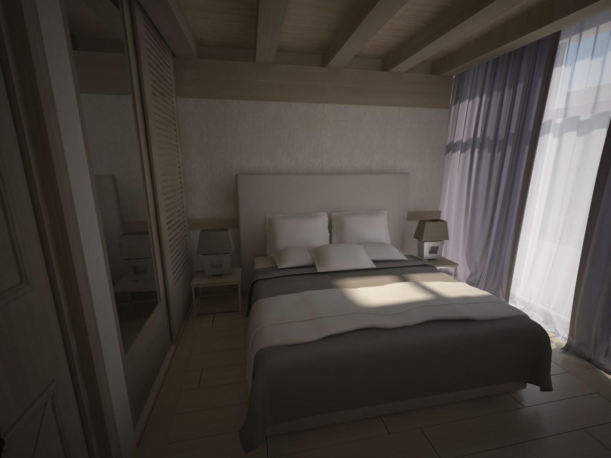 проект спальни от Archico